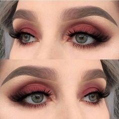 Icon, Muse & Divine used on the eyes from the Lime Crime Venus Grunge Palette - Tap the Link Now to 90s Makeup, Fall Makeup, Skin Makeup, Red Eyeshadow Makeup, Fall Eyeshadow Looks, Punk Makeup, Lip Gloss, Soft Grunge Makeup, Makeup Ideas