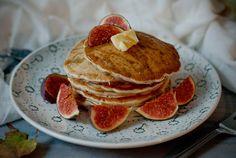 almond pancakes - Red velvet cooking & baking