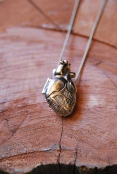 Anatomical Heart Locket. Perfect for us science and medicine geeks :)