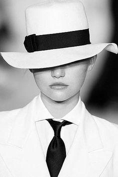 #GemmaWard for #RalphLauren -- #BlackTie