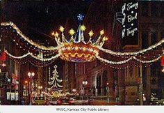 Crowns for Christmas in downtown Kansas City and trips to Emery Bird Thayer.