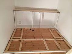 Billedresultat for børneværelse seng med opbevaring Diy Platform Bed, Diy Bed, My Room, Tiny House, Small Spaces, Diy And Crafts, Organizing Ideas, Storage, Attic