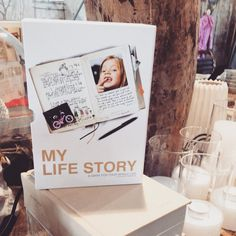 Dit enorme boek nieuw binnen 'a diary for your whole life' #write #diary #atelier8 #haarlem #book