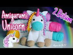 Free Crochet, Crochet Hats, Create Your Own Image, Amigurumi For Beginners, Crochet Unicorn, Magical Unicorn, Amigurumi Doll, Free Pattern, Hello Kitty