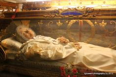 This is Blessed Anna Maria Taigi. She was a maid who married a ...