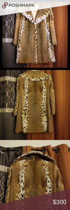 Authentic Fur Coat Authentic Fur Coat from the legendary Bullock's on Wlishire Los Angeles.  Vintage piece that is no longer made.  NO TAGS, best fits a Medium-Large.  Super luxurious. This is perfect for the high fashion woman seeking a piece of Los Angeles history. Name is engraved in coat but can be covered with a personal name sew on patch. Some areas of fur need to be retrained due to being stored for so long. Includes garmet bag from Bullock's. Worth a pretty penny. See pic 6 for a…