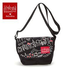 e4f762635f Sanrio Hello Kitty Manhattan Portage messenger bag M From Japan New     To  view