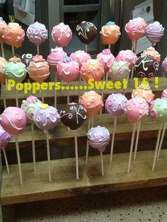 Sweet 16 cake pops!