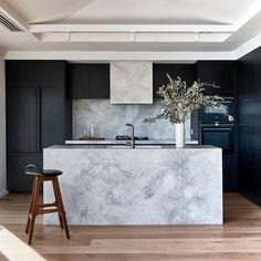 Diy Interior, Bathroom Interior Design, Kitchen Interior, Kitchen Design, Loft Kitchen, Apartment Kitchen, Elegant Kitchens, Beautiful Kitchens, Cute Home Decor