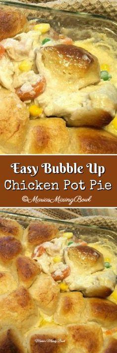 Easy Bubble Up Chicken Pot Pie
