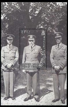 British Indian Ocean Territory Royal Air Force Stamps