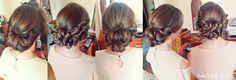 wedding hairstyles #wedding #hairstyle #ideas #weddinghair #hairstylist #romantic #bun #chignon #braids #updo #updos #hairblog #hair