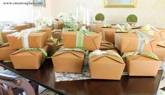 Party idea but also great for lunch boxes  Box Lunch Bridal Shower