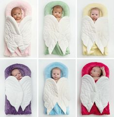 AnnMarie John: Angels on my Pillow - Baby Receiving Blanket Cute Little Baby, Baby Kind, Baby Receiving Blankets, Baby Pillows, Baby Warmer, Baby Art, Baby Decor, Nursery Decor, Baby Accessories