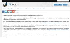 get rid of hives Customer Feedback, Press Release, How To Get Rid, How To Plan