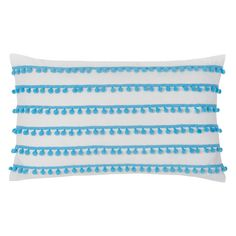 Found it at AllModern - Pom Pom Cotton Lumbar Pillow