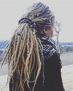 @maddeeepaddeee and her amazing dreads also wearing our beautiful Khaptad Suntali Scarf ॐ www.ohmboho.com ॐ