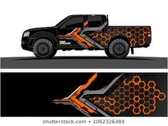 Similar Images, Stock Photos & Vectors of Truck Graphic. Abstract modern lines graphic design for truck and vehicle wrap and branding stickers - 1062326225 Navara D40, Nissan Navara, Vehicle Signage, Bmw Autos, Van Wrap, 3d Modelle, Truck Decals, Truck Design, Grafik Design