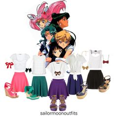 Every Day Sailor Moon Fashion Outfits