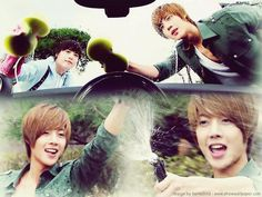 Boys Over Flowers. If only every car wash was like this....JiHoo= (Kim Hyun Joong)