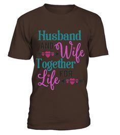 Just Married Shirt Bride Groom Husband Wife Together Life