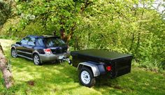 Dinoots make great off-road trailers and also are well suited for tamer Trailer Supported Adventuring behind rigs like Subaru's