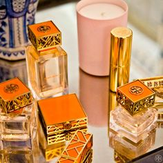 Tory Burch Beauty on Tory's vanity
