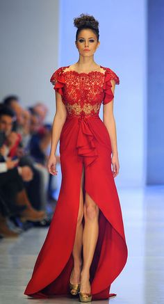 Fouad Sarkis - Alta-Costura - Primavera-Verão 2014-Simply beautiful!