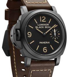 """Panerai : un coffre """"pré-Vendôme"""" Panerai Watches, Panerai Luminor, Men's Watches, Luxury Watches, Watches For Men, Wrist Watches, Ring Watch, Watch Bands, Left Handed Watch"""