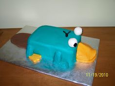 Perry the Platypus Cake-I think we have found the cake!