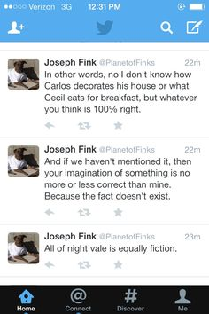Reasons to love Joseph Fink