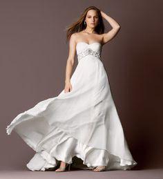 Flowing wedding dress :)