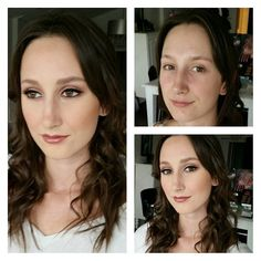 When a #bride tells me she's concerned with looking recognizable on her #weddingday all the #instagram #makeup trends go out the window. #naturalbeauty becomes the priority!  #wedding #torontowedding #transformation #airbrushmakeup #torontomakeupartist #durhamregionbride #downtownwhitby #makeupstudio #bridal #engagedintoronto #hairwaves none of the makeup or facial features in this photo have been altered.