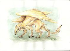 Golden Griffon Chimera, myth, gryphon #Mythical #Fantasy #Creature mythological chimera,chimera