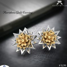 Make it simple, but significant. #gold #earring #goldearring