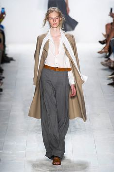 Wide trousers from #michaelkors