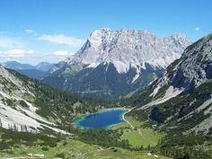 Der Seebensee vor dem Wettersteingebirge