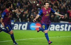 Las mejores fotografía del Barça-Milan. Los azulgranas ya están en semifinales.