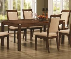 102591SET5 Elliot 5 PC Dining Set (Table and 4 Chairs) by Coaster by Coaster Home Furnishings. $665.00. The clean lines of a classic rustic farmhouse table with the added contemporary casual appeal of unique open details at the corners make this Elliot 5 PC Dining Set Table and 4 Chairs - Coaster Co a great choice for your home The versatile look of th...