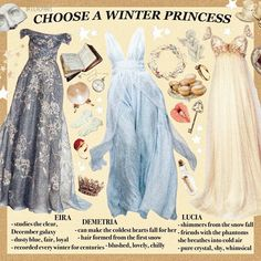 Choose a winter princess Dress Outfits, Dress Up, Cute Outfits, Prom Dresses, Fashion Outfits, Summer Dresses, Formal Dresses, Classy Aesthetic, Aesthetic Fashion