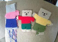 Ravelry: jenip's teddies for Christmas