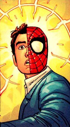 Peter Parker (AKA Spider-Man) by John Romita Jr