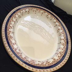 Royal Worcester Large Oval Serving Platter Size 19' x 14 5' Mint | eBay