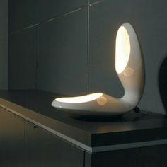 """Shell"" ceramic lamp"