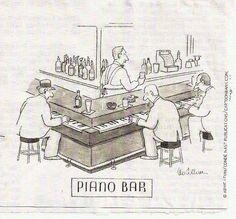 A REAL piano bar!
