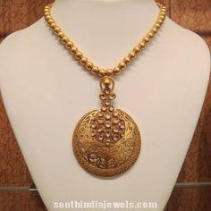 Trendy Designer gold kundan necklace from NAJ