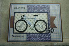 Man Birthday, Birthday Cards, Happy Birthday, Bicycle Cards, Pumpkin Cards, Birthday Numbers, Diy Christmas Cards, Marianne Design, Punch Art
