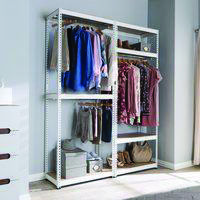 The best and easiest metal shelving lowes that look beautiful Metal Shelving Units, Utility Shelves, Steel Shelving, Shelving Racks, Shelving Systems, Steel Racks, Home Libraries, Shelf Brackets, Office Organization