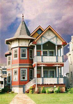 Ocean Grove NJ Victorian fine art prints and Photography