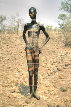 66lanvin: teiq: Mursi Man, Ethiopia original photo edited by: teiq AFRICA is my DESCENT………..No.7